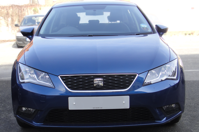 2014 Seat Leon TDI CR 110 EcoMotive Style (Essex UK, 2014).