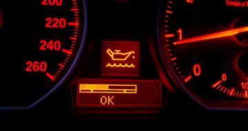 Oljesjekk via kjørecomputeren, BMW 116