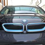 Blå BMW-nyrer for i3