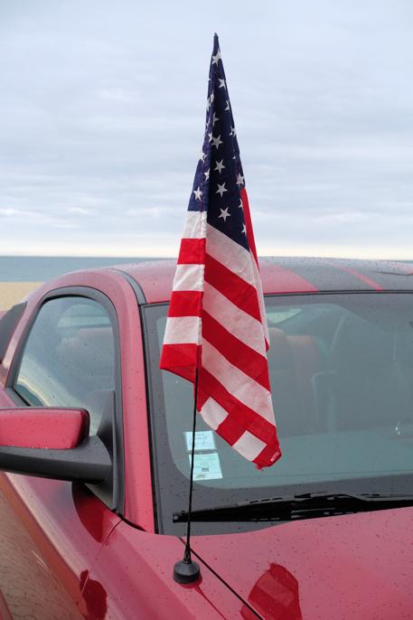 Amerikansk fest ved Middelhavet.