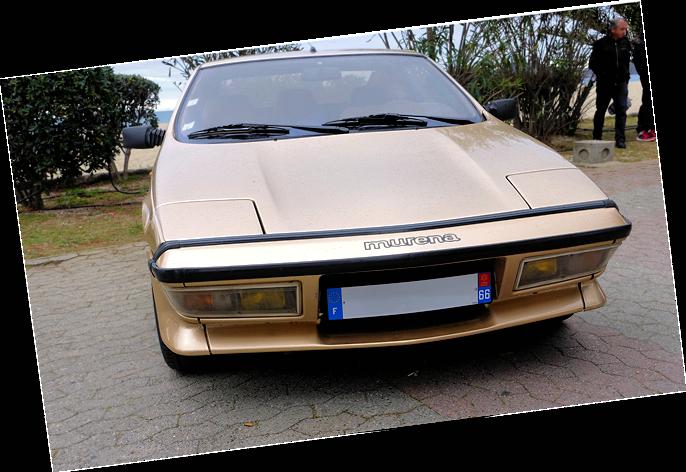 Showets kanskje mest sjeldne. 1980-1983 Matra Murena (Talbot/Simca).