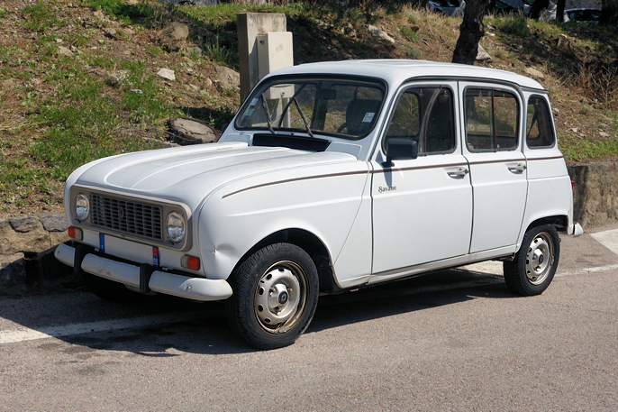 Renault 4 Savane fra 80-tallet ()