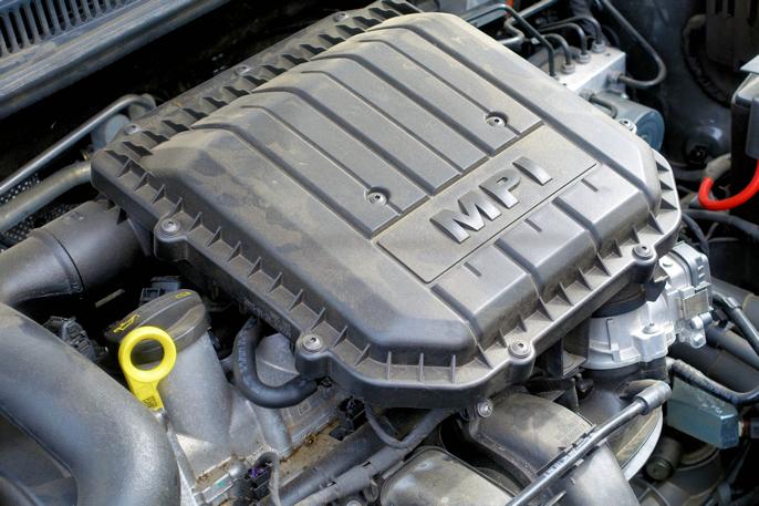 Motoren er piggere enn man skulle tro, og en positiv overraskelse.