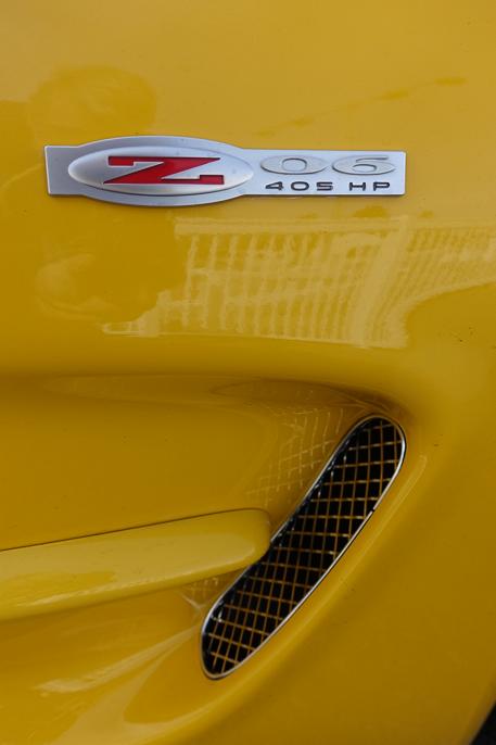 Dette er en 2004 modell Z06 - siste året med dette karosseriet (5. generasjon).