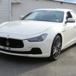 2015 Maserati Ghibli Quattroporte.