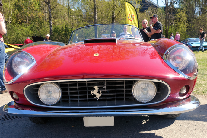 1959 Ferrari 250 GT California.