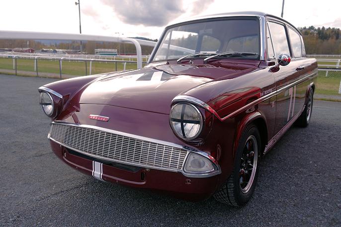 1959-1967 Ford Anglia racing