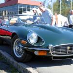 1973 Jaguar E-Type.