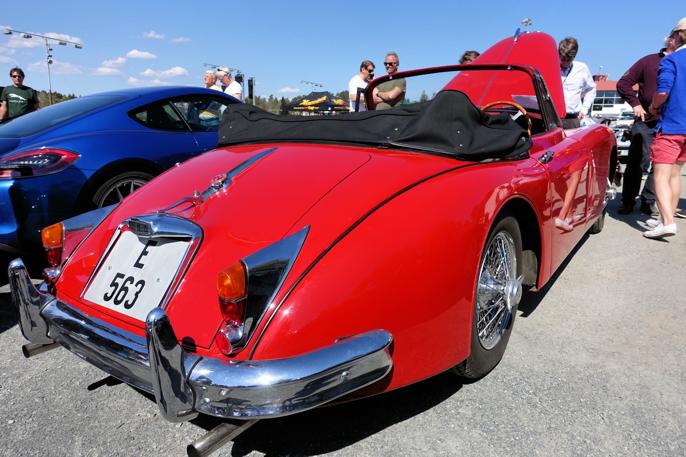 Liker man Etype, liker man også forgjengeren, XK 150 coupé.
