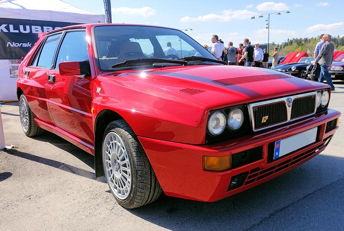 Vi, som fulgte med rally på 80- og 90-tallet, oppdaget Lancia Integrales fantastiske veigrep.