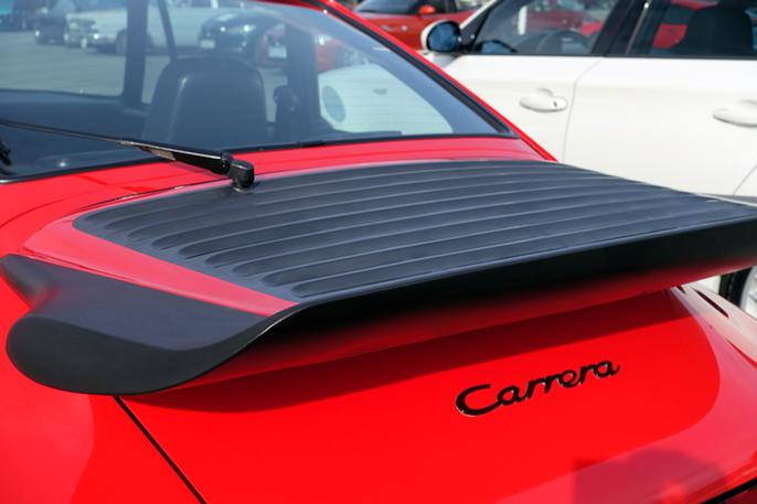 Kanskje verdens vakreste spoiler - i hvert fall den største da 911 Turbo ble innført.