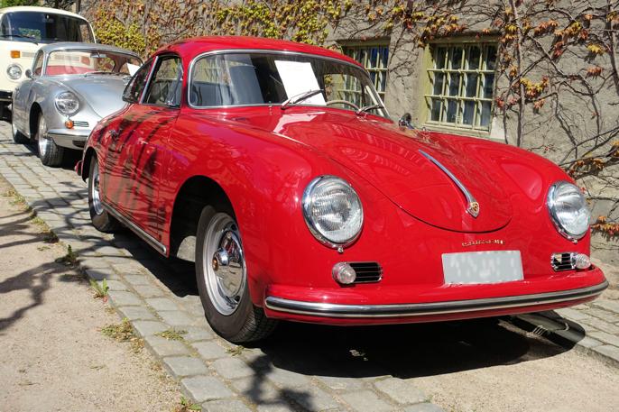 En av de få Porsche 356'ene. Denne er en 1959 modell med 75 hester.