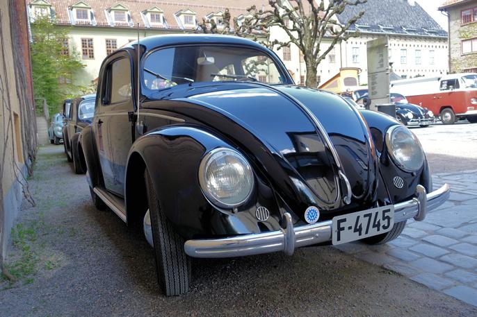 En av de eldste på treffet. En 1950 modell i perfekt tilstand.