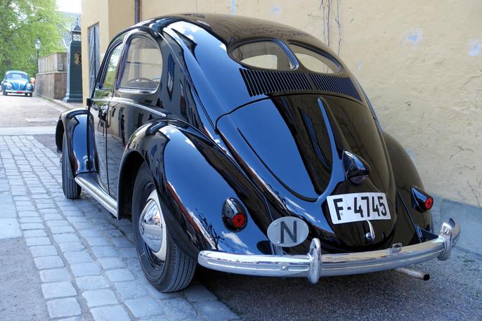 Split window bakrute ble beholdt helt frem til 1953.