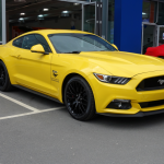2015- Ford Mustang.