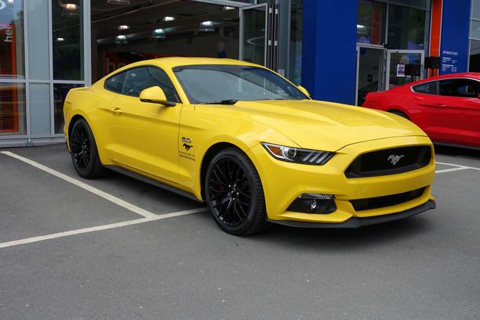 Ny Ford Mustang GT 5.0 V8