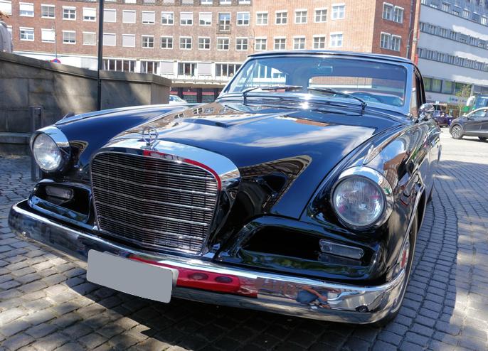 Det var ikke uvanlig å se Studebakere i Oslos gater.