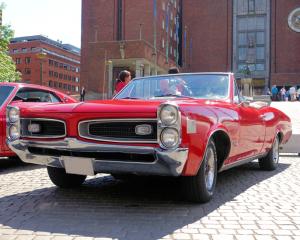 1966 Pontiac LeMans.