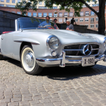 1955-1963 Mercedes-Benz 190 SL.