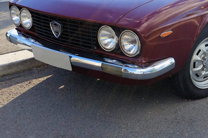 I 1969 fikk Lancia Flavia en ny, mer tidsriktig front. Grillen på avbildet modeller korrekt, men skulle ha vært blank. Først i 1971 ble grillen erstattet med en svart grill som strakk seg rundt lyktene, og med en kromlist rundt det hele.
