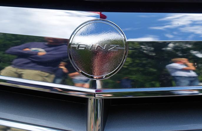 Binz, ikke Benz.
