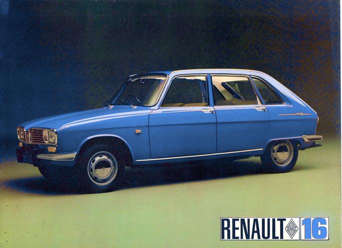 Renault fra en reklameside.