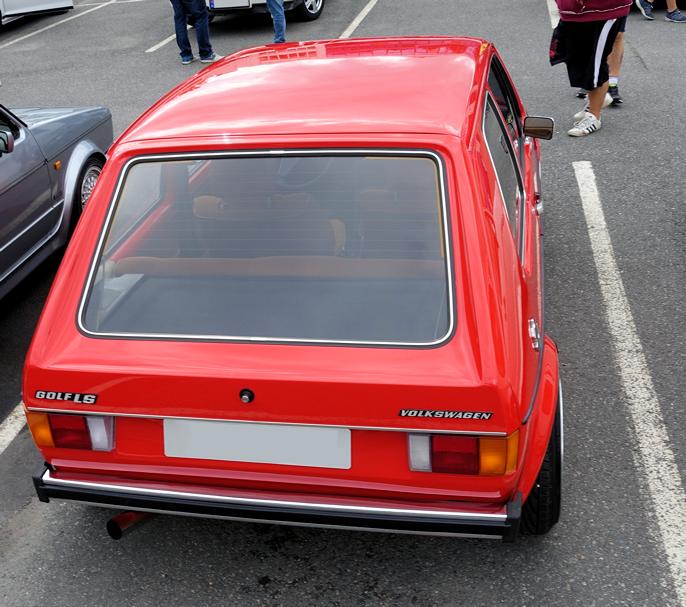 Et utrolig godt design. Få biler fra 70-tallet ser så bra ut i dag.