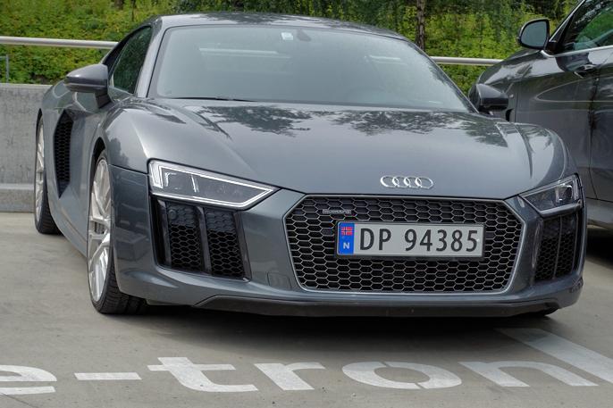 2016 Audi R8 (Oslo NO, 2016)