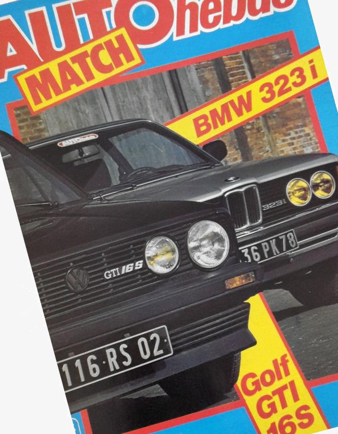 Forsiden på det franske ukemagasinet Auto Hebdo.