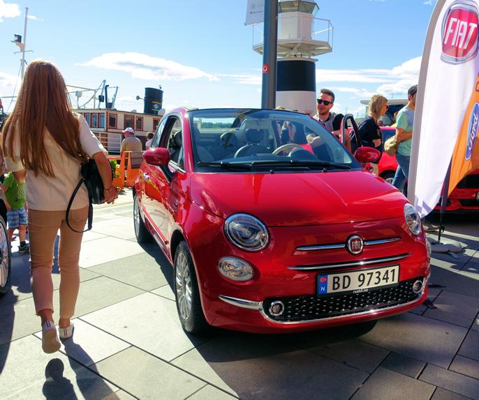 Heldigvis har ikke Fiat gjort for mange endringer på sin flotte 500.