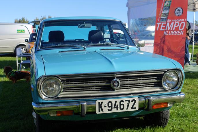 1970 Datsun 1200 (Oslo NO, 2016).