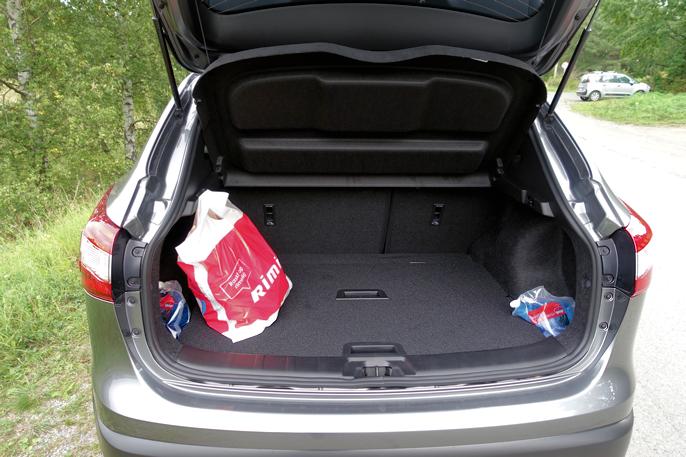 """Utbyttet fra """"Havaristen"""" greidde ikke å fylle bagasjerommet."""