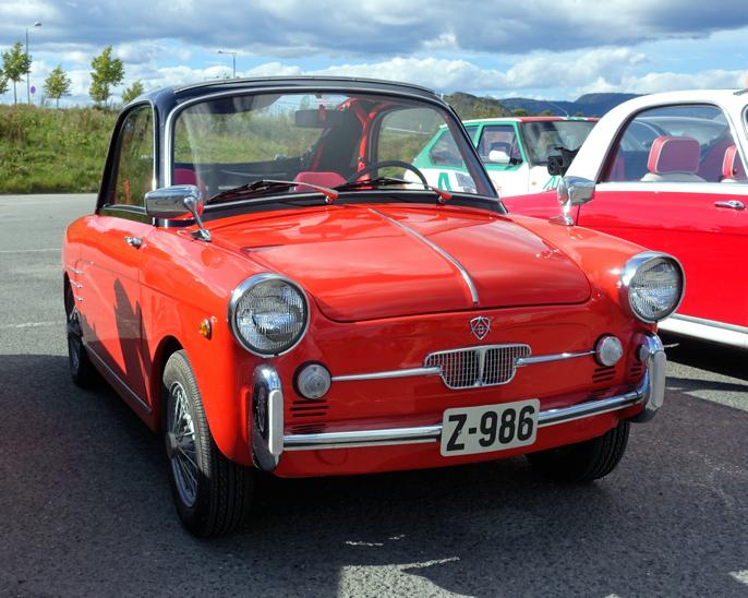 Autobianchi Bianchina er en variant av Fiat Nuova 500. Den har de samme målene (3 meter lang) og det samme drivverket, bare i et stiligere skall.