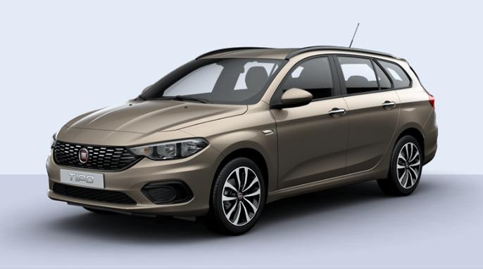 Fiat Tipo Lounge 1,6 MJT diesel 120 HK kan tas inn fra utlandet for kr 306 721,-.