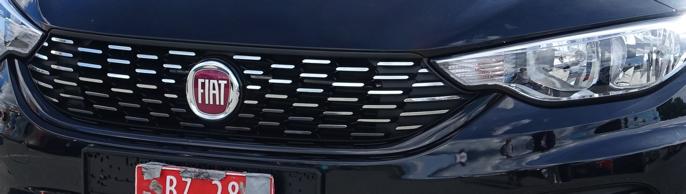 Denne grillen er en retro-studie fra Fiats mellomklassebiler på 60-tallet.