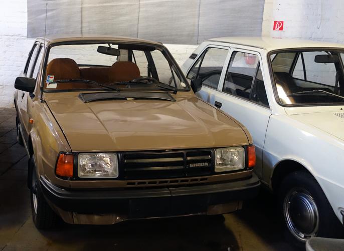 Siste Skoda facelift av hekkmotoriserte Skodaer (130).