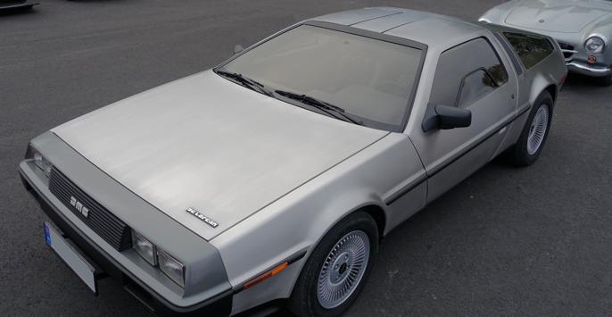 1983 DeLorean (Akershus NO, 2016).