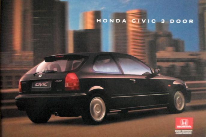 Utseende på sjette generasjon av Honda Civic har tålt tidens tann usedvanlig godt.