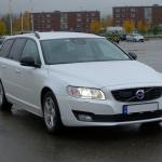 2016 Volvo V70 nye D2 og Geartronic.