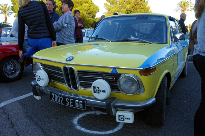BMW 2002 tii er ikke bare en all-time klassiker, men også en røver i Middelhavs-rallyene.