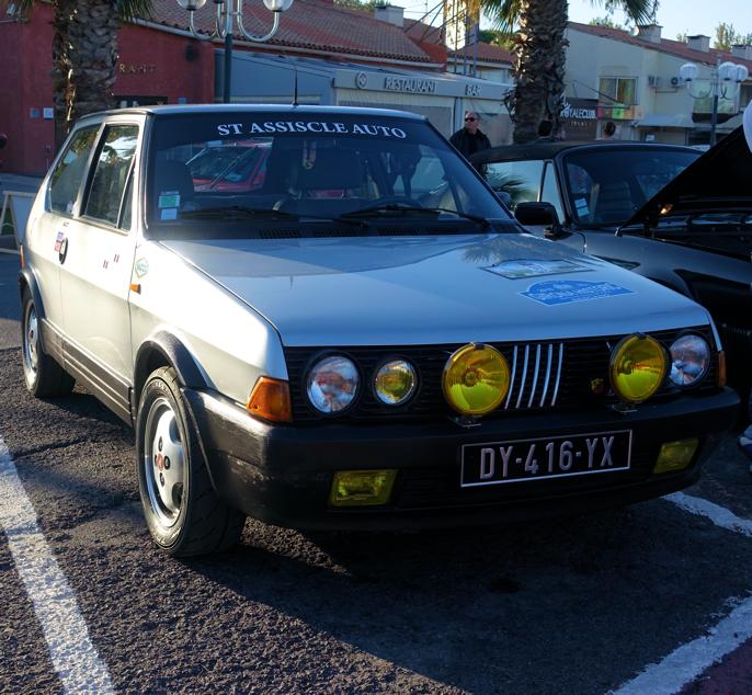 Fiat Ritmo 130 TC passet usedvanlig godt i dette selskapet.