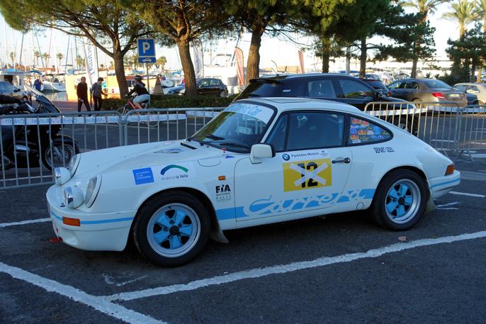 Et klassisk innslag i et hvert rally: Rallyrigget Porsdhe 911.