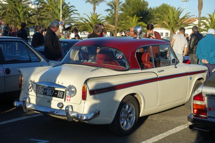 Denne Sunbeam Rapier hadde en helt rå lyd. En skikkelig rallybil.
