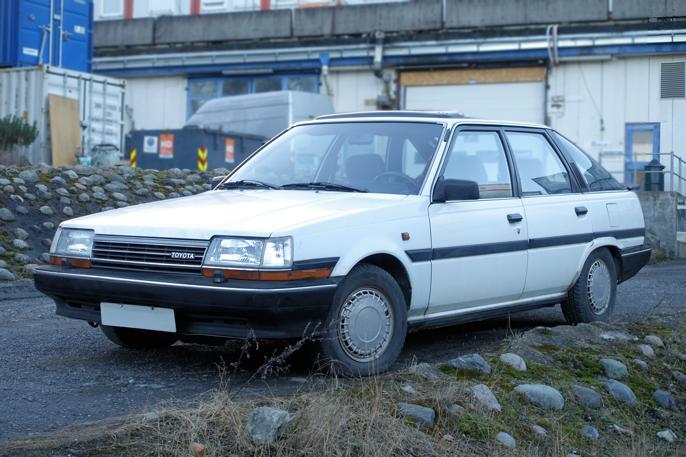 T150 har en svært stilren form, men Toyota valgte å redesigne bilen totalt etter bare 4 år.
