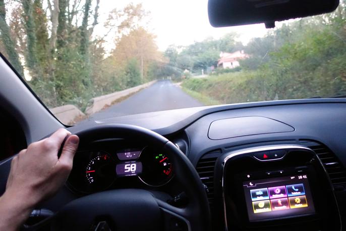 Svært lettkjørt og trives langs franske landeveier.