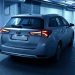 Toyota Auris Hybrid Touring.
