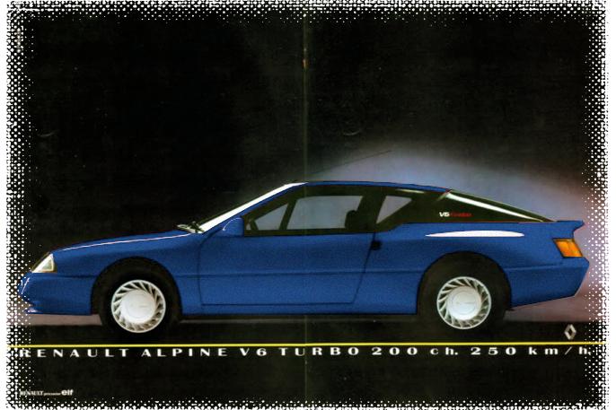 V6 Turbo: 200 HK, 250 km/t og 0-100 på 7 sekunder.