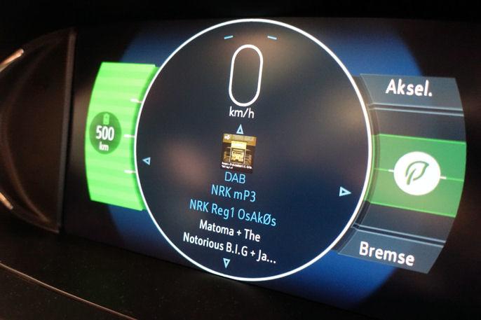Beviset! Rekkevidden er i følge Opel mer enn 500 km.