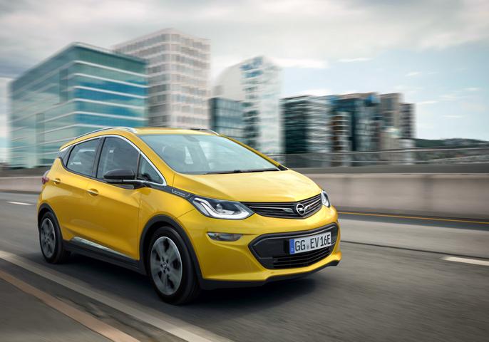 Pressebilde fra Opel, Kanskje samme bil som jeg satt i?