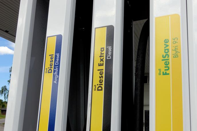 avgiftsfri diesel pris